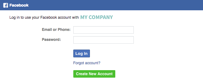 Facebook Authentication 213
